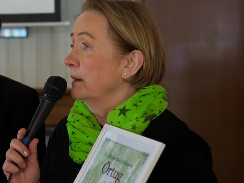 Sylvia Samuelsson, foto Lars Klingström.