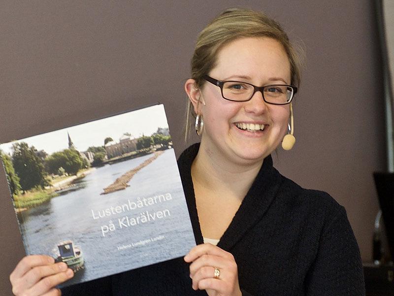 Helena Lundgren Landin, mottagare av Örtug nr 54 år 2019. Foto Lars Klingström.